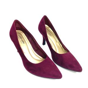 Comfort Plus by Predictions 3' Pumps in Burgundy